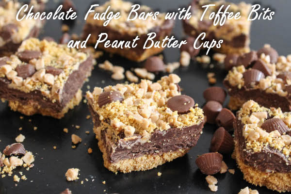 chocolate fudge toffee bars
