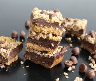 fudge bars with toffee and pb