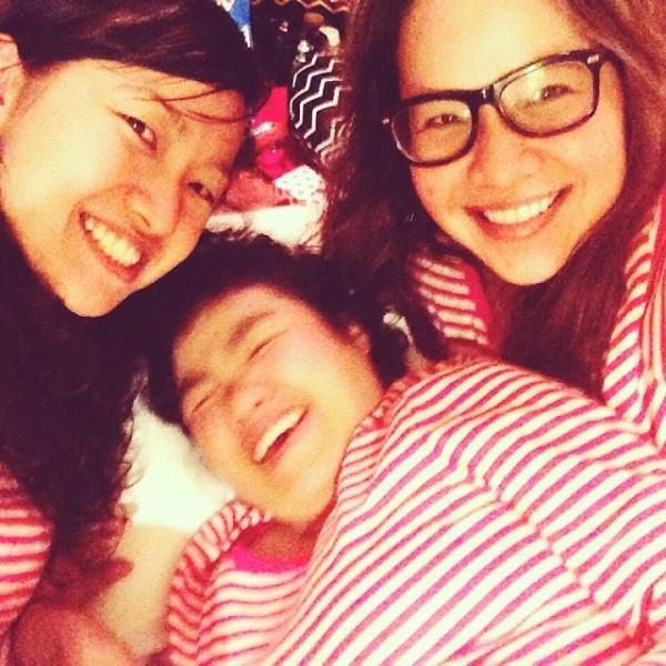 sisters matching pajamas