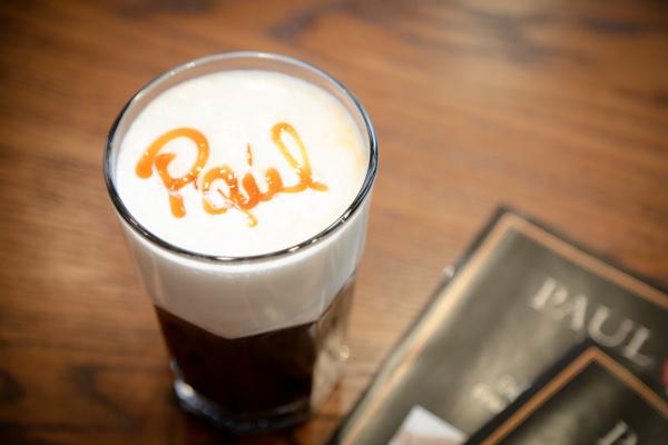 paul bakery latte