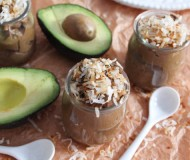 healthy chocoalte avocado pudding