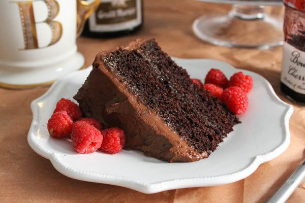 beattys chocolate cake slice