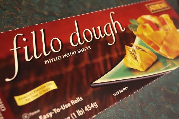 frozen phyllo dough