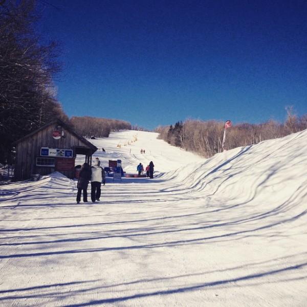 snow tubing vermont