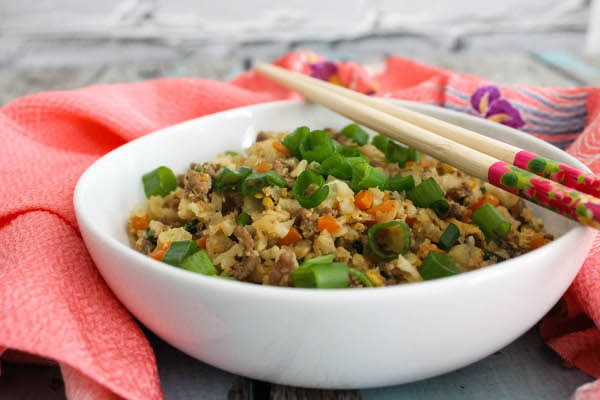 japanese cauliflower fried rice