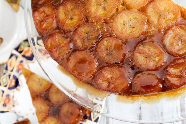 caramelized banana upside down cake