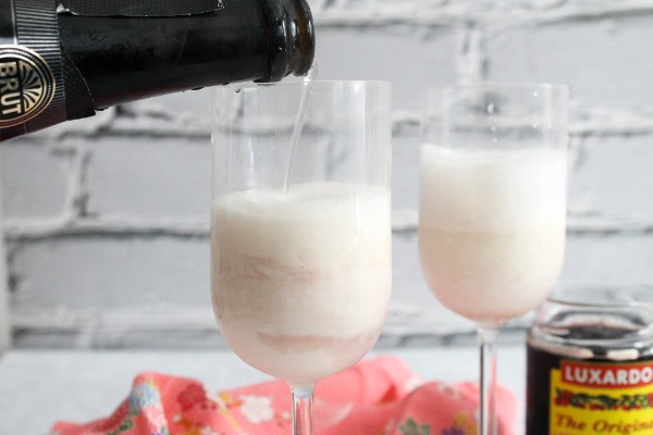 cava ice cream float