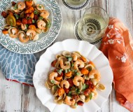 orechiette with shrimp