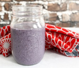 blue velvet smoothie