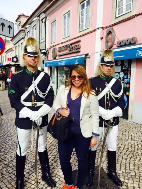 Bianca and Portuguese guards