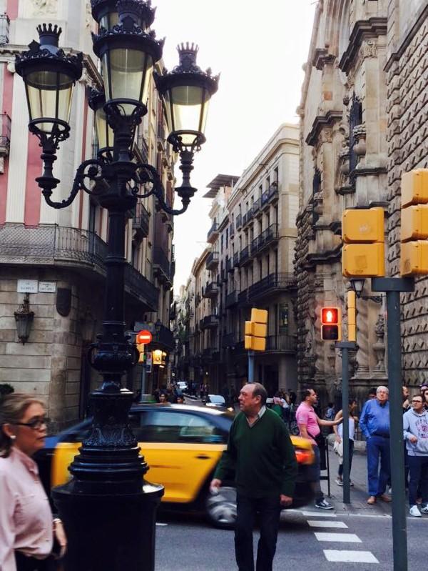 barcelona side streets