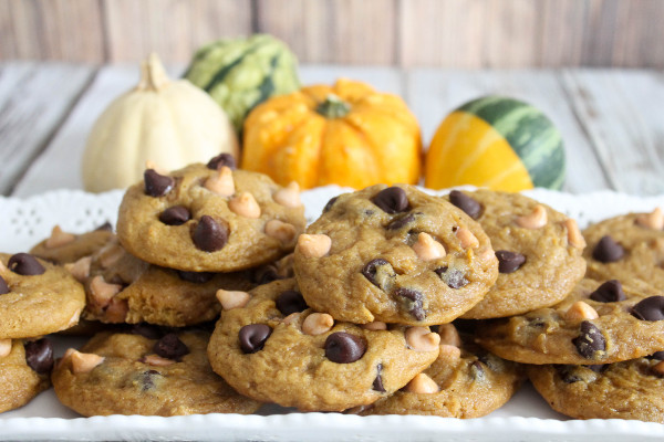 Pumpkin Cookies with Butterscotch and Chocolate Chips - Confessions of ...