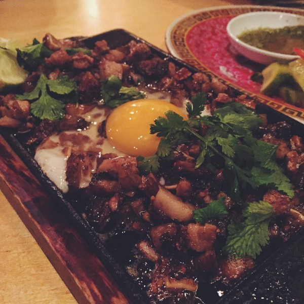 pig and khao sisig