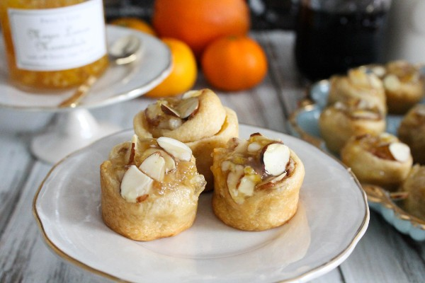 orange marmalade cinnamon buns