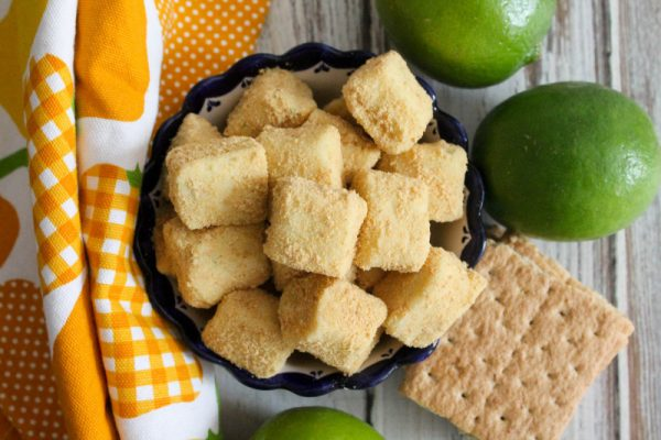 key lime pie squares