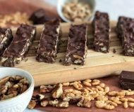 nutty chocolate bars
