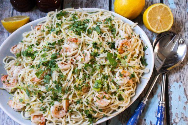 easy one pot shrimp scampi