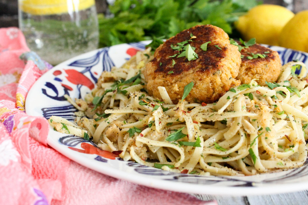 Crab Cake Linguini Confessions Of A Chocoholic
