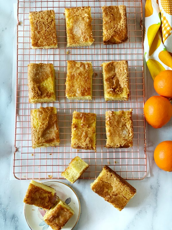 Orange Olive Oil Snack Cake